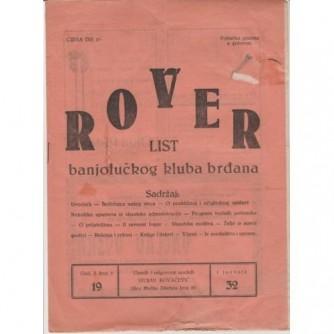 Rover : list banjolučkog kluba brđana 1932.